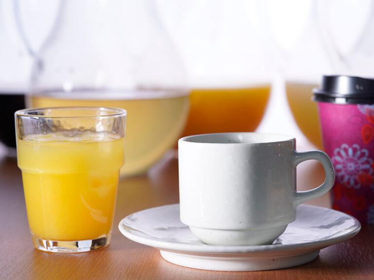 朝食ドリンク